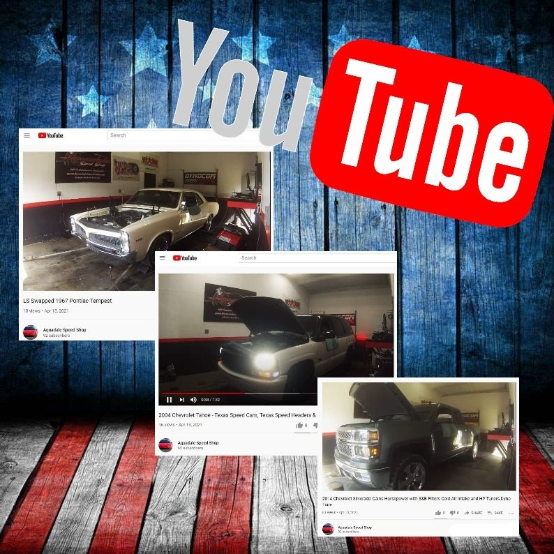 Aquadale Speed Shop's YouTube Channel is Growing!